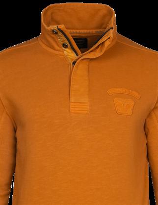 PME Legend sweater PSW216417 in het Licht Grijs