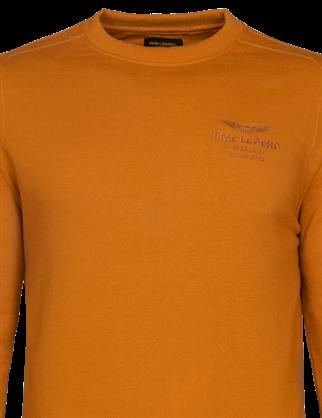 PME Legend sweater PSW216420 in het Licht Grijs