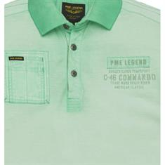 PME Legend t-shirts ppss194860 in het Mint Groen