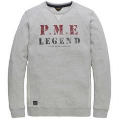 PME Legend t-shirts pts188531 in het Licht Grijs