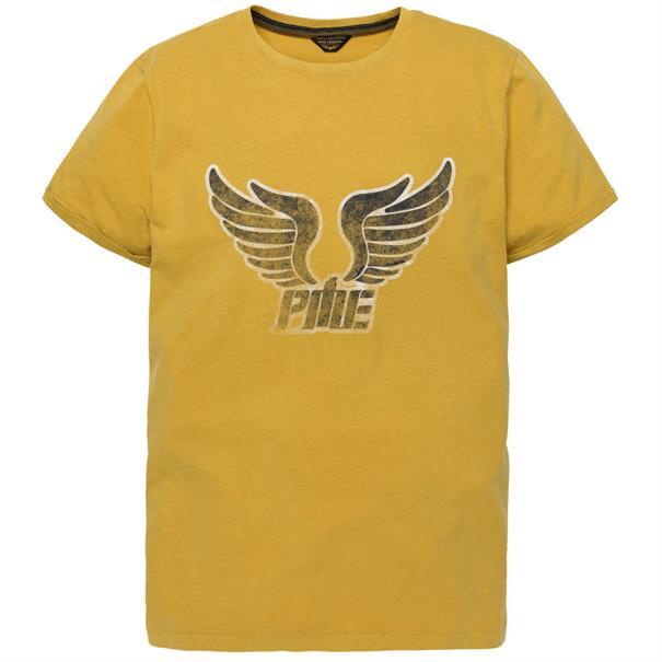 PME Legend t-shirts ptss192536 in het Geel