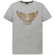 PME Legend t-shirts ptss192536 in het Licht Grijs