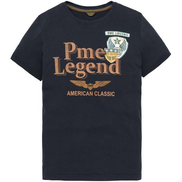 PME Legend t-shirts ptss194532 in het Donker Blauw
