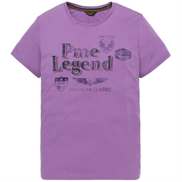 PME Legend t-shirts ptss194532 in het Lila