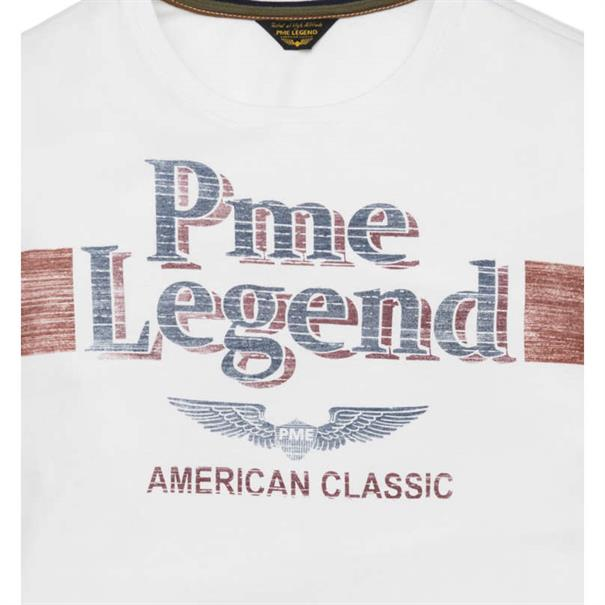 PME Legend t-shirts ptss194532 in het Wit