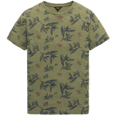 PME Legend t-shirts ptss198523 in het Khaky beige