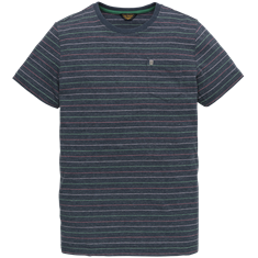 PME Legend t-shirts ptss202569 in het Donker Blauw