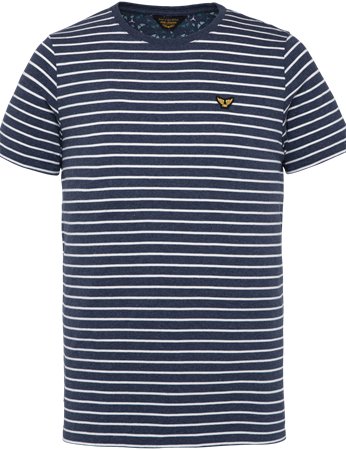 PME Legend t-shirts PTSS203554 in het Donker Blauw