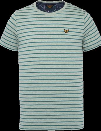 PME Legend t-shirts PTSS203554 in het Mint Groen