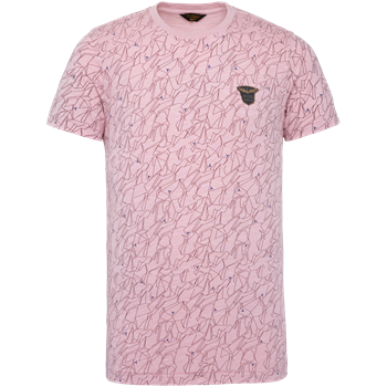 PME Legend t-shirts PTSS203558 in het Koraal