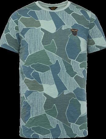 PME Legend t-shirts PTSS203558 in het Mint Groen