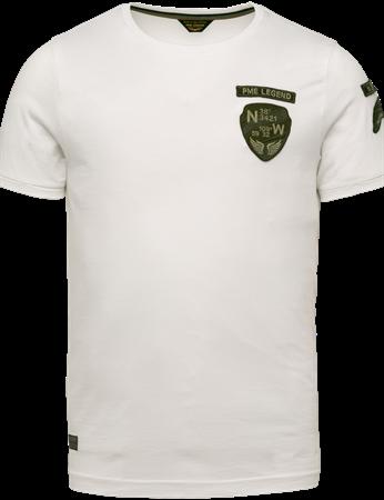 PME Legend t-shirts PTSS203559 in het Wit