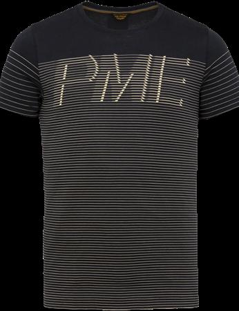 PME Legend t-shirts PTSS203561 in het Donker Blauw