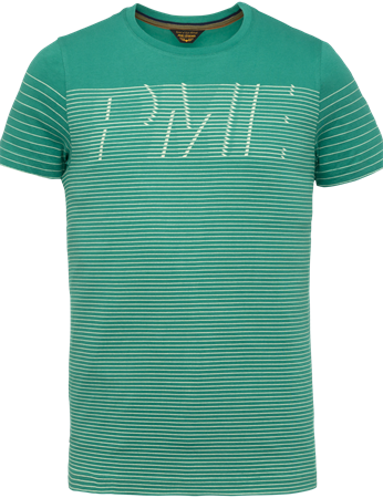 PME Legend t-shirts PTSS203561 in het Donker Groen