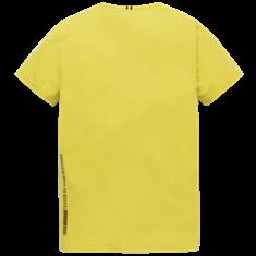 PME Legend t-shirts PTSS206541 in het Olijf groen