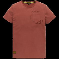 PME Legend t-shirts PTSS206541 in het Rood