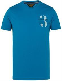 PME Legend t-shirts PTSS211520 in het Blauw