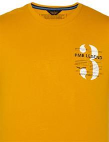 PME Legend t-shirts PTSS211520 in het Geel