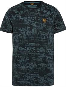 PME Legend t-shirts PTSS211522 in het Marine