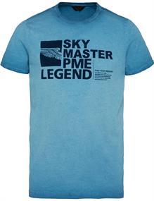PME Legend t-shirts PTSS211523 in het Blauw