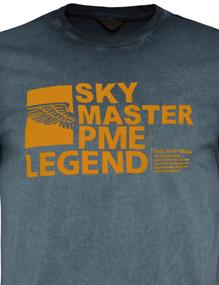 PME Legend t-shirts PTSS211523 in het Marine