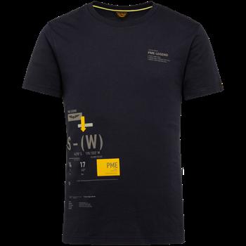 PME Legend t-shirts PTSS214552 in het Marine