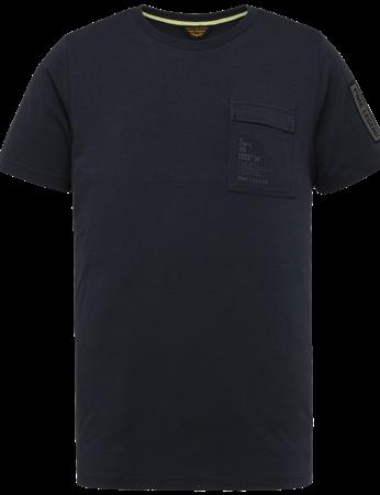 PME Legend t-shirts PTSS214554 in het Donker Blauw