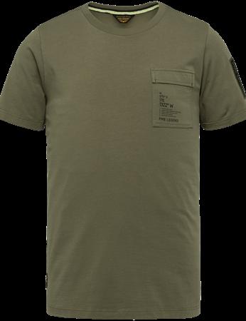 PME Legend t-shirts PTSS214554 in het Groen