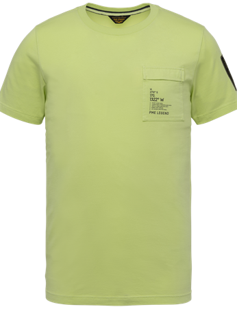 PME Legend t-shirts PTSS214554 in het Lime