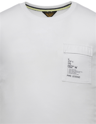 PME Legend t-shirts PTSS214554 in het Wit