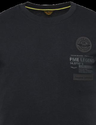 PME Legend t-shirts PTSS214560 in het Marine