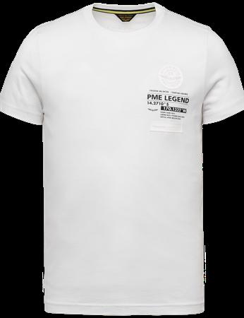 PME Legend t-shirts PTSS214560 in het Wit