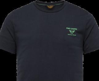 PME Legend t-shirts PTSS214580 in het Marine