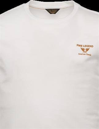 PME Legend t-shirts PTSS214580 in het Wit