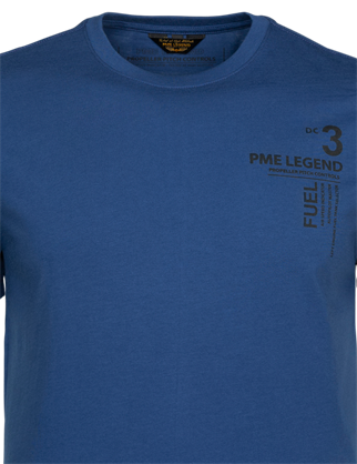 PME Legend t-shirts PTSS215562 in het Marine