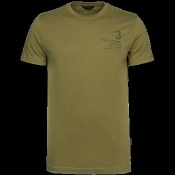 PME Legend t-shirts PTSS215562 in het Olijf groen