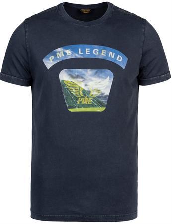 PME Legend t-shirts PTSS215566 in het Donker Blauw