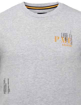 PME Legend t-shirts PTSS215571 in het Licht Grijs