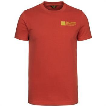 PME Legend t-shirts PTSS216571 in het Rood