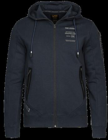 PME Legend vest PSW216425 in het Donker Blauw