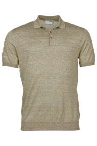 polo's Tailored Fit 1083TM200 in het Beige