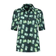 Pom blouse sp6195 in het Petrol
