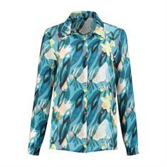 Pom blouse sp6202 in het Hemels Blauw