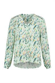 Pom blouse sp6259 in het Mint Groen