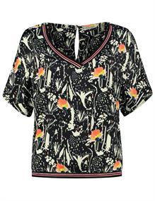 Pom blouse sp6479 in het Donker Blauw