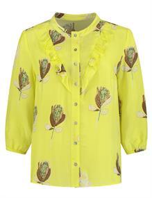 Pom blouse sp6493 in het Geel