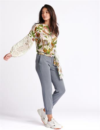 Pom blouse sp6539 in het Licht Groen