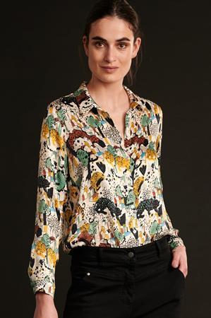 Pom blouse sp6677 in het Ecru