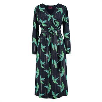 Pom jurk sp5980 in het Blauw
