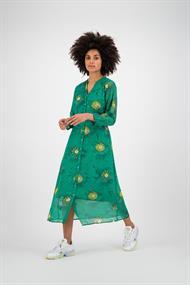 Pom jurk sp6210 in het Groen